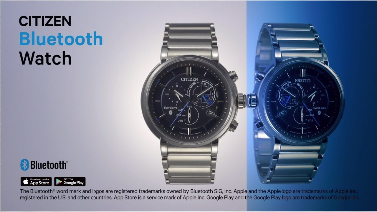 7f585102a7c CITIZEN Bluetooth Watch - Smart gets real - YouTube