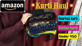 Amazon Kurti HAUL TRY ON Kurta HAUL Anarkali Kurtis Online Kurtis Kurtis Haul