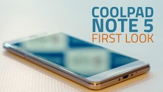 Coolpad Note 5 First Impressions