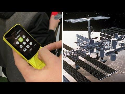 هاتف -الموزة- من نوكيا الجديد  و كمبيوتر HP الذي سيرسل إلى الفضاء - 4Tech  - 17:22-2018 / 3 / 19