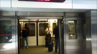 DIA - Trip from airport security checkpoint via train to B Gates