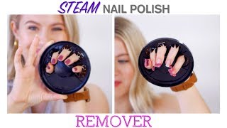 STEAM Nail Polish REMOVER 😲 | Milabu