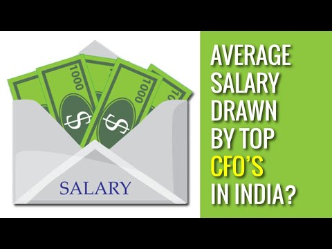 What is the salary of CFO of top companies in India