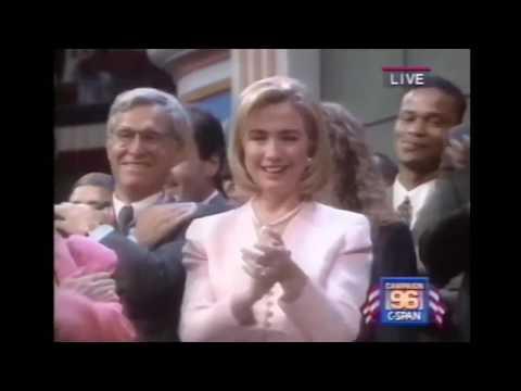 The 1996 DNC was lit