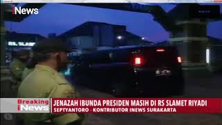 Gambar cover Ibunda Jokowi Tutup Usia, Jenazah Masih di RS Slamet Riyadi - Breaking iNews 25/03