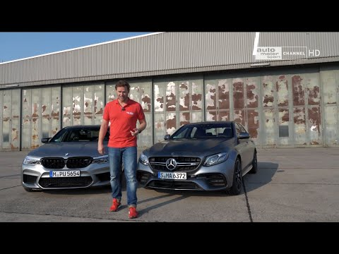 BMW M5 Competition Vs Mercedes AMG E63s