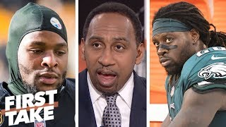 Stephen A.: Eagles can't afford Le'Veon Bell to replace injured Jay Ajayi | First Take