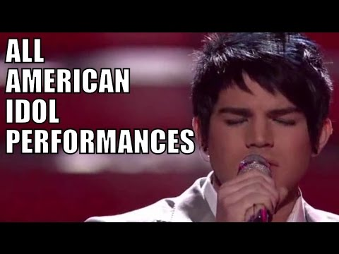 Adam Lambert's American Idol Performances
