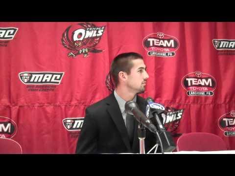 Brandon McManus Press Conference 10/12/10