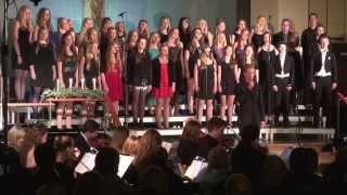Julekonsert 2013 - Skedsmo Voices med Romus og band - Lillestrøm kirke