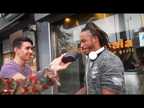 Freestyle Dans La Rue Avec Des Inconnus ! Freestyle In The Street With Random People
