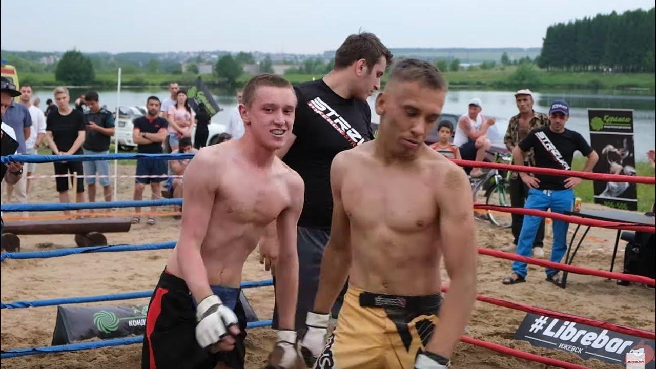 Андрюха СПАРТАК против Дворого бойца !!!