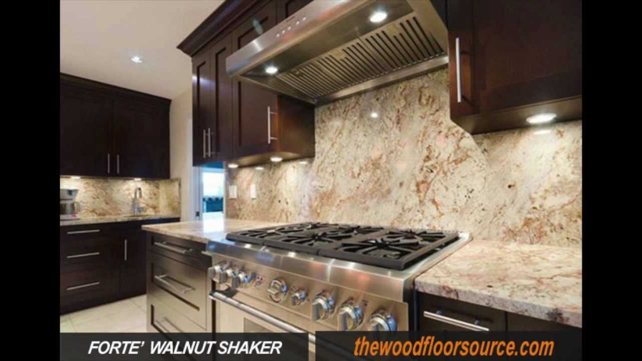 Walnut Shaker Kitchen Cabinets, From Thewoodfloorsource.com (508)897 0922