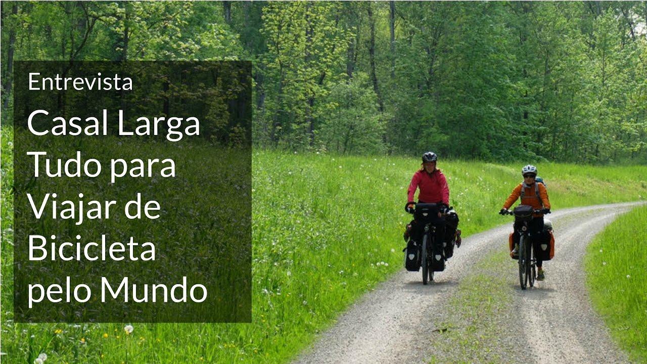 Entrevista com casal que viaja pela Europa e Ásia de bicicleta