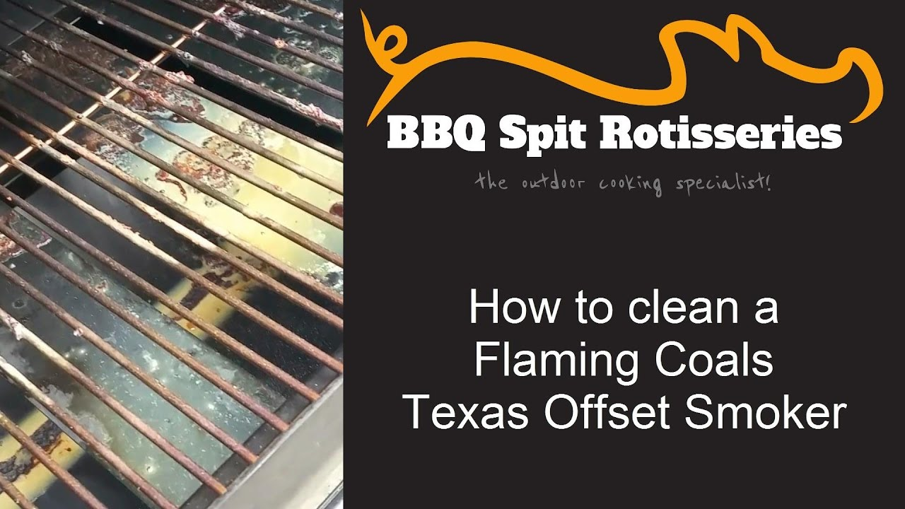 How To Clean An Offset Meat Smoker Youtube