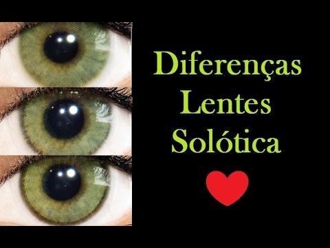 3effbe40ba DIFERENÇAS LENTES SOLÓTICA (Hidrocharme - Hidrocor - Natural Colors ...
