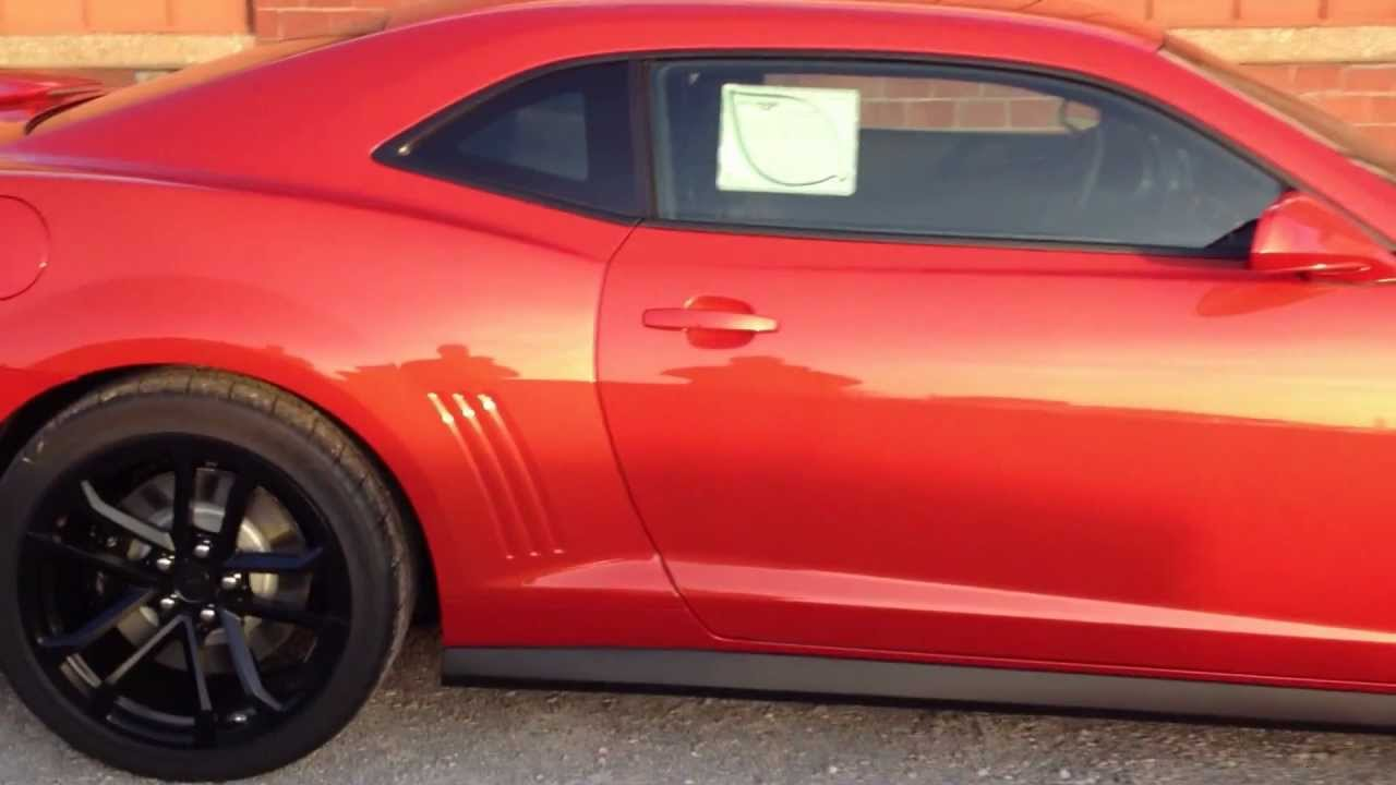 2013 Chevrolet Camaro Zl1 Coupe Inferno Orange Meier