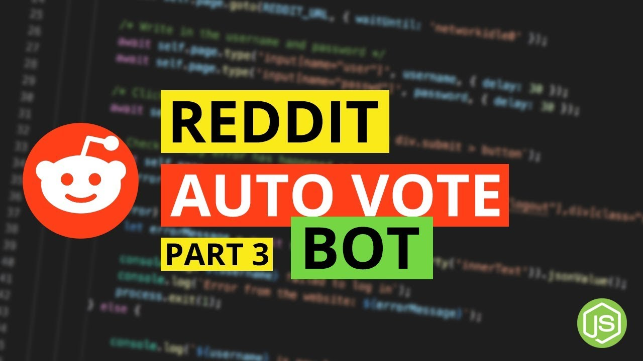 Automating Upvotes on Subreddits - Reddit Bot with Puppeteer & NodeJs