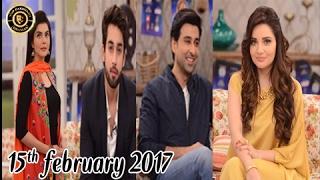 Good Morning Pakistan - Rasm-e-Duniya Cast 15th February 2017 - Top Pakistani show