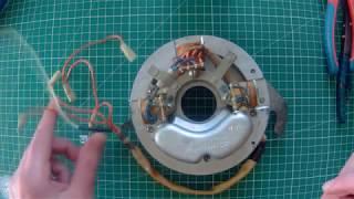 Установка электронного зажигания мотор Ветерок, МБЭ.