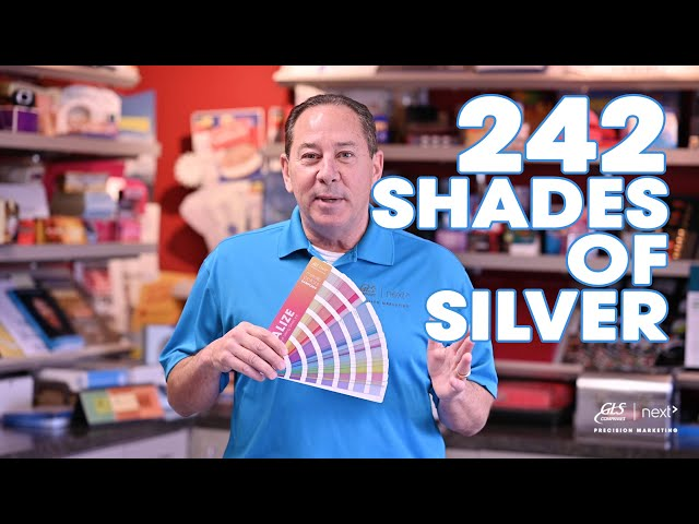 242 Shades of Silver Ink