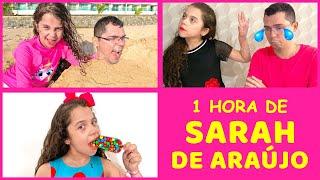 SARAH DE ARAÚJO 1 HORA DE VIDEO COM PAPAI