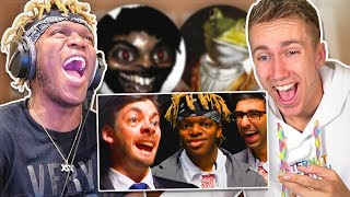 KSI & MINIMINTER Reacting to SIDEMEN Meme Edits