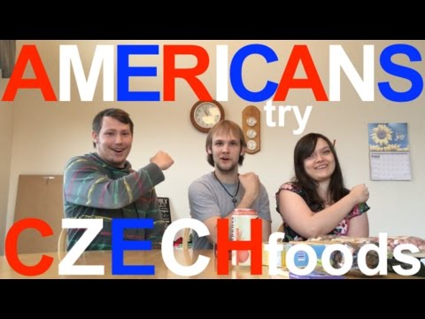 Americans Try Czech Foods!