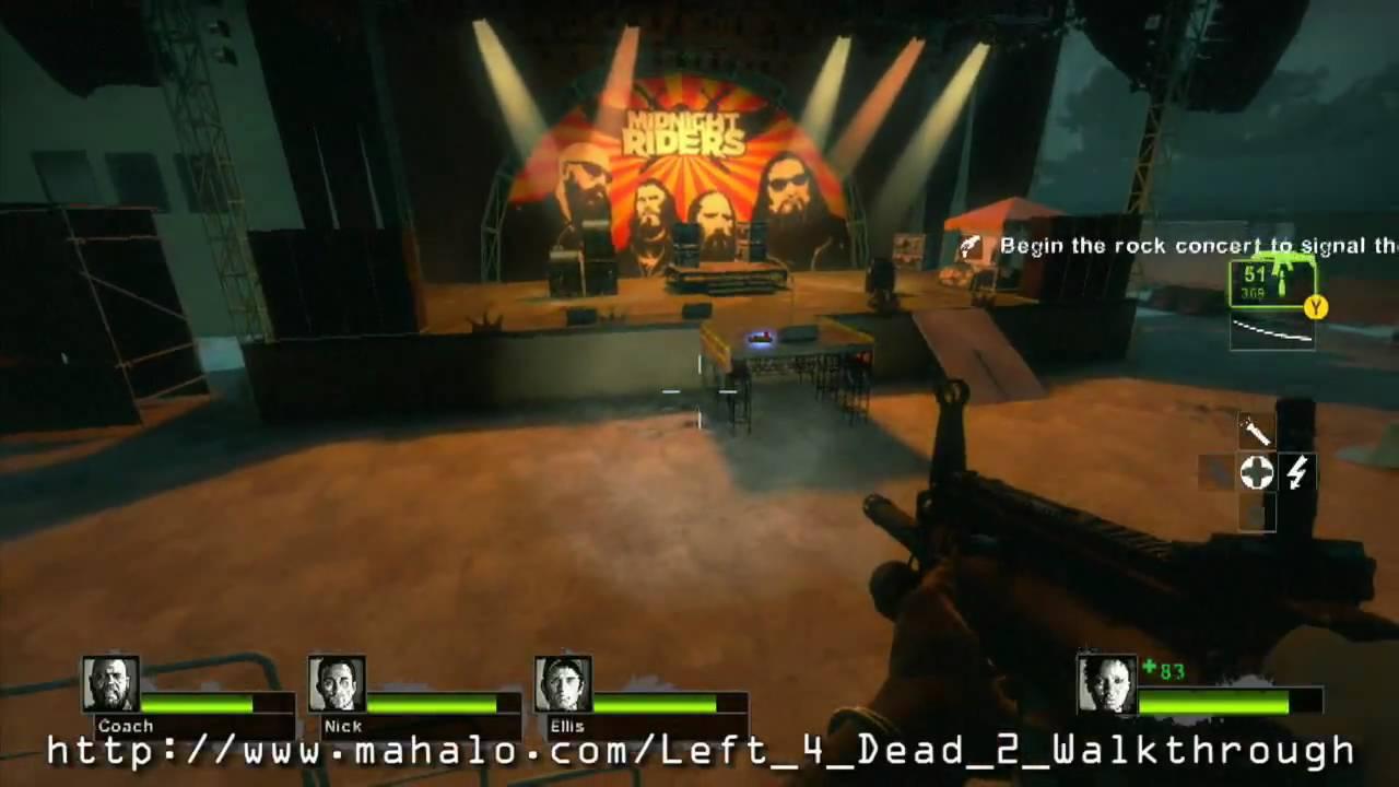 How to Walkthrough Left 4 Dead 2: C2, Dark Carnival