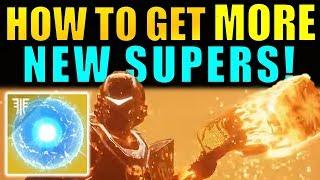 Destiny 2: How to Unlock MORE NEW SUPERS! - Seed Of Light Guide!   Forsaken