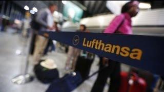 """لوفتهانزا"""": إضراب أطقم الضيافة الجوية يتسبب بالغاء..."""