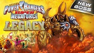 POWER RANGERS: SUPER MEGAFORCE SUPER MEGAFORCE: LEGACY