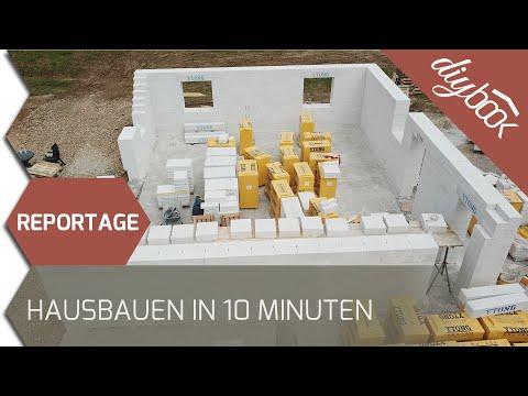 Reportage: Haus Bauen In 10 Minuten - Die Magie Von Porenbeton