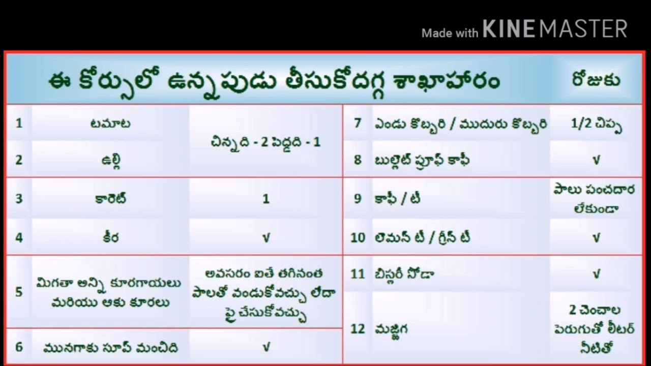 Veeramachaneni ramakrishna   complete diet plan in telugu also youtube rh