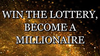 528 Hz – WIN THE LOTTERY  BECOME A MILLIONAIRE – Meditation Music (With Subliminal Affirmations)