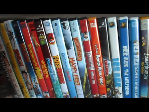 My Animated Movie Collection
