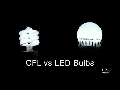 Comparison of CFL and LED Bulbs For Home Lighting - DiTuro Productions