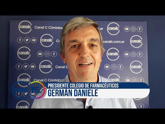 Canal C 15 años: Germán Daniele, presidente Colegio de farmacéuticos