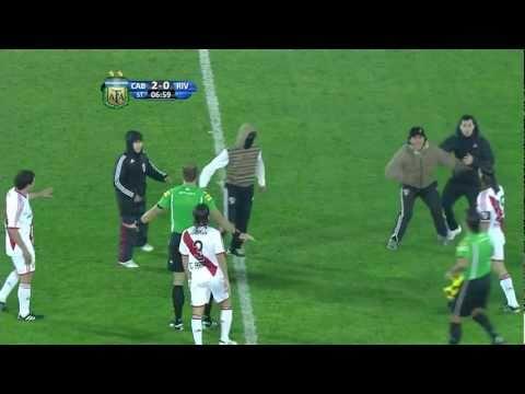 Incidentes Belgrano vs River en [HD] 2011 promocion