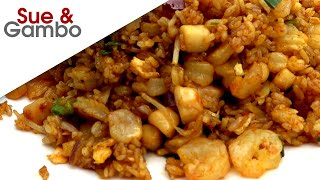 Chinese Seafood Curry Fried Rice Recipe