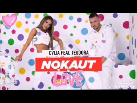 CVIJA FEAT TEODORA-NOKAUT (OFFICIAL AUDIO)