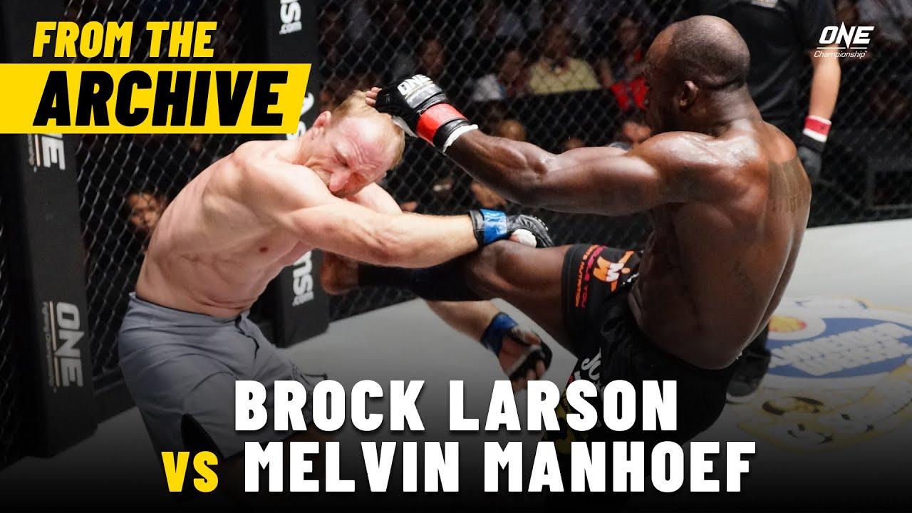 Brock Larson vs. Melvin Manhoef | ONE Championship Full Fight | April 2013
