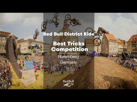 Red Bull District Ride - Best Tricks Competition LIVE