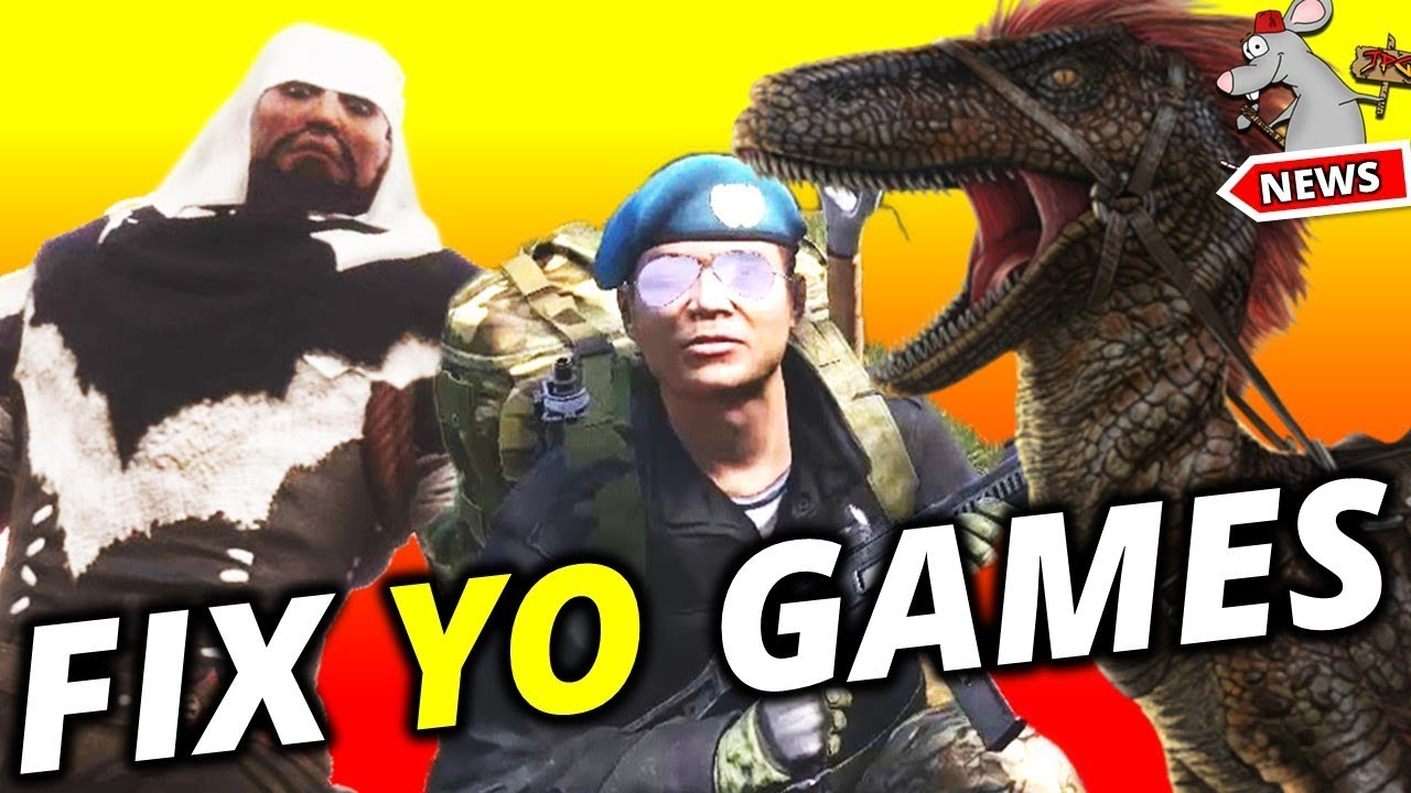 Ark Conan And Dayz - Duping Exploits And Cheats!! Devs Need To Do More?