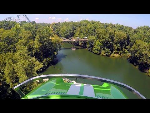 Verbolten front seat on-ride HD POV @60fps Busch Gardens Williamsburg