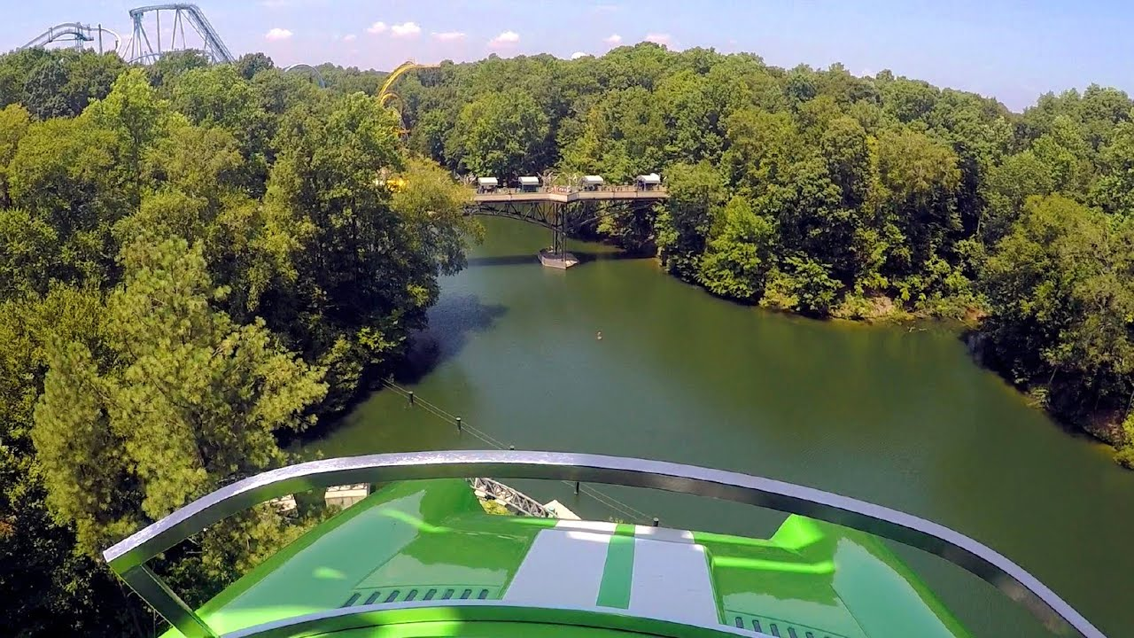 Verbolten front seat on-ride HD POV @60fps Busch Gardens Williamsburg