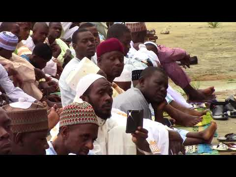 The eid prayer of 1438. This was in Bonaloka, Douala, Cameroon
