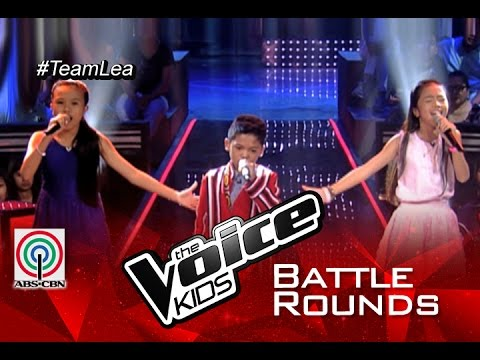 """The Voice Kids Philippines 2015 Battle Performance: """"Lupa"""" by Angel vs Reynan vs Rovelyn"""