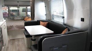 Walk Through 2015 Airstream Sport 22FB Bambi Small Camping RV Travel Trailer Caravan For Sale
