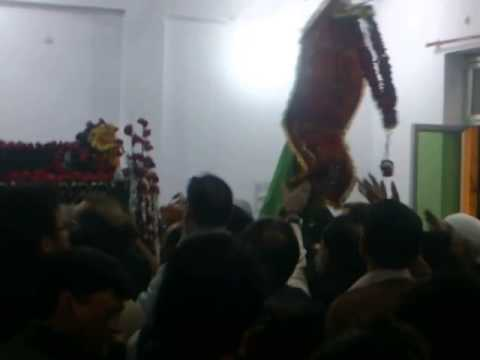 Shabeeh-e-Taboot At Dr. Mustafa Hall,Kareli Allahabad-4 Dec 2014